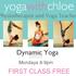 Monday Yoga class