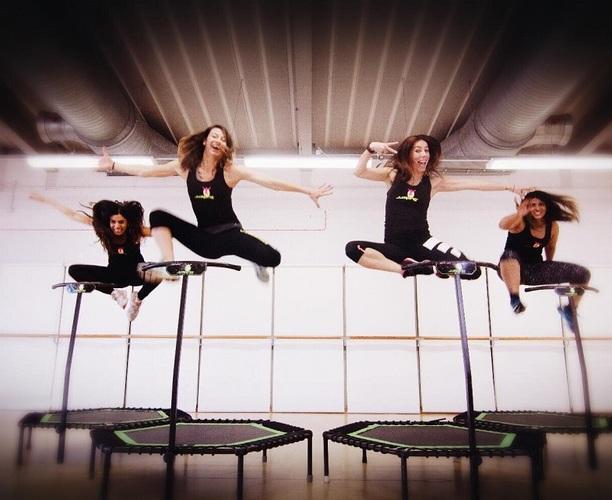 Jumping Fitness Class