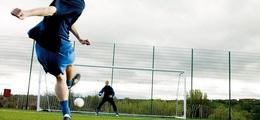 Under 14s Football training