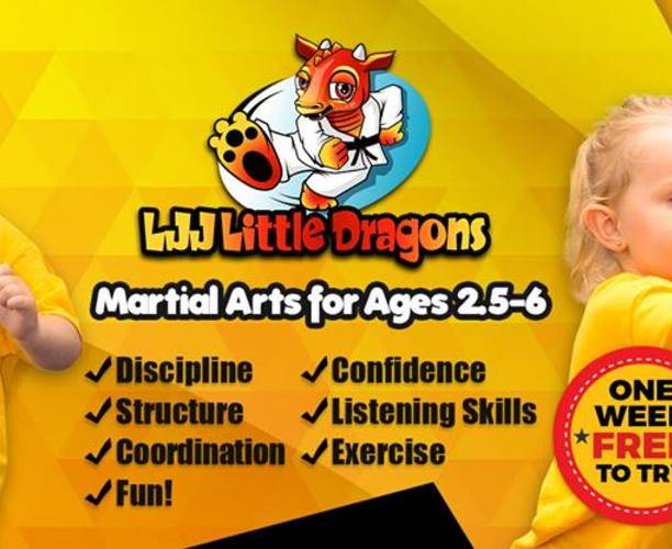 LJJ Martial Arts (for ages 2½ - 6)