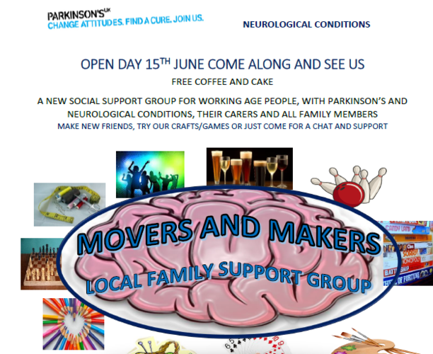 Movers and Makers - Social Support Group