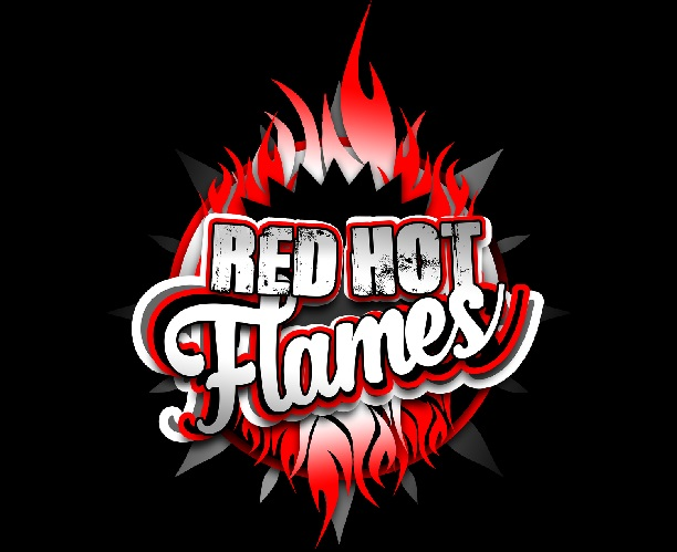Red Hot Flames Cheerleading Squad