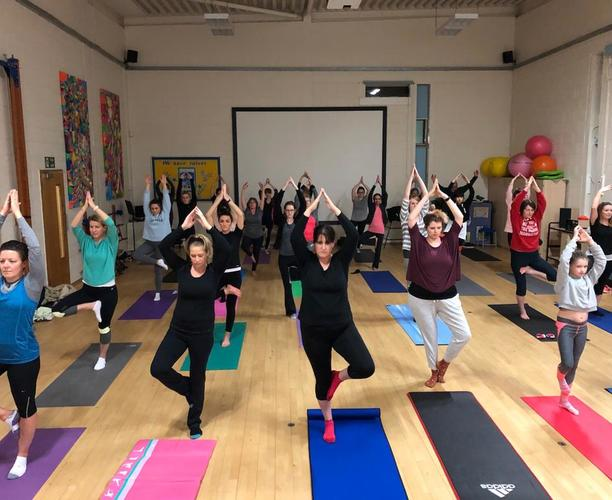 Yoga Classes in the Primary Hall