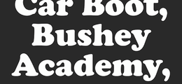 Bushey Winter Car Boot Sale