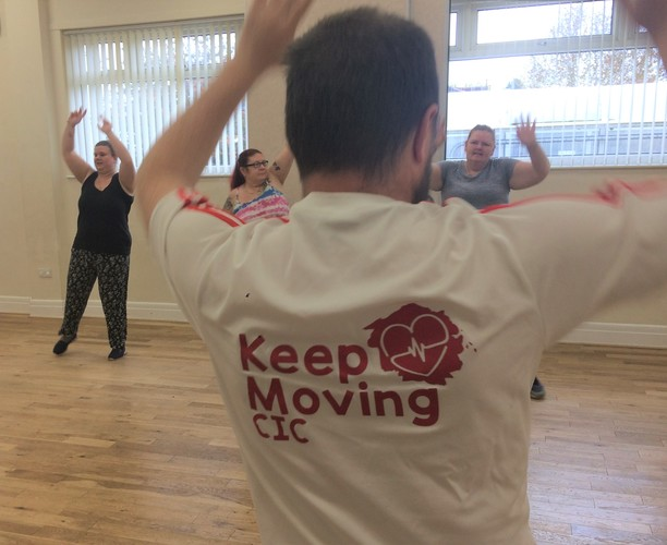Keep Moving with Paul Grey