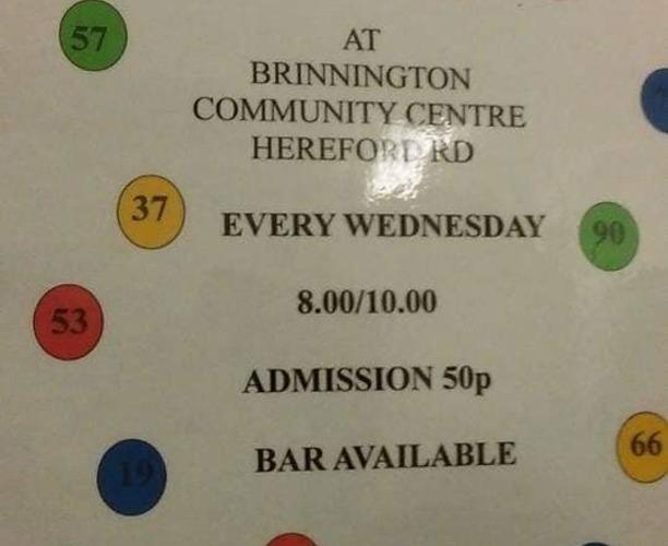 Bingo at Brinnington Community Centre