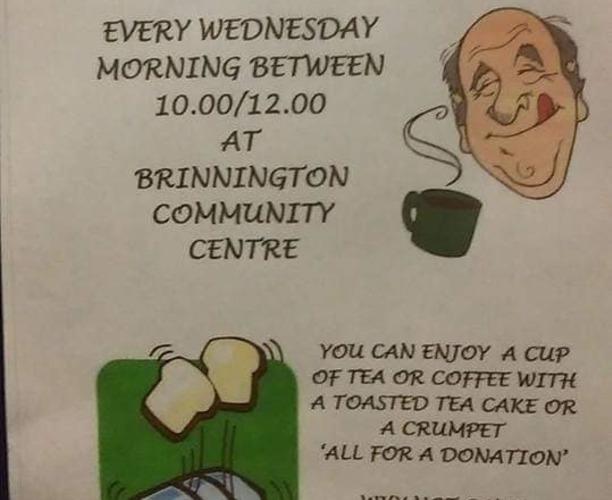 Coffee Morning - Brinnington Community Centre