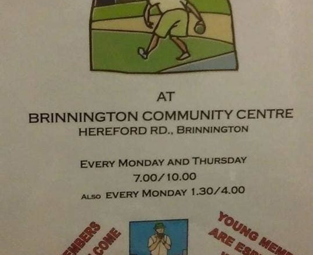 Indoor Bowling - Brinnington Community Centre