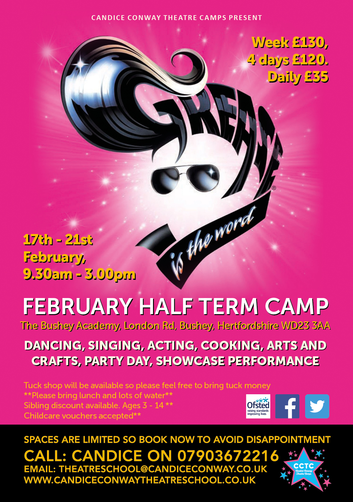 Performance, Arts & Crafts Holiday Camp