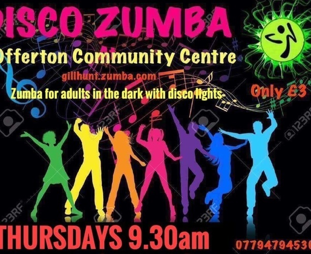 Fit Steps Disco Zumba Class - Offerton Community Centre - Main Hall