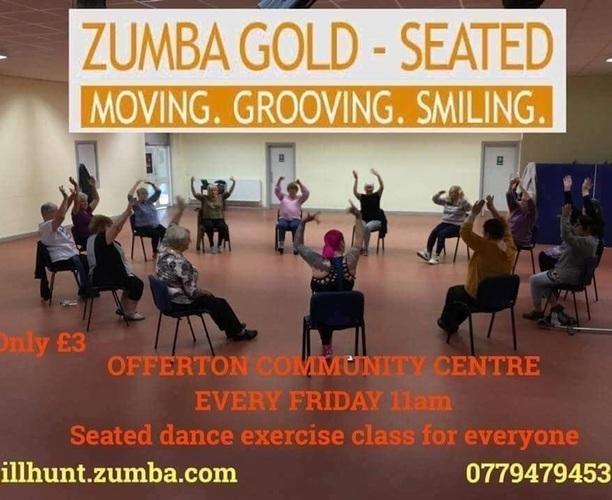 Zumba Gold (seated) - Offerton community centre - Main Hall