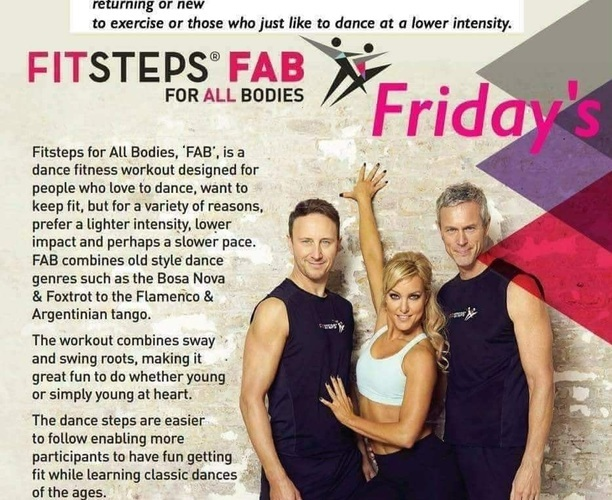 Fit Steps FAB - Offerton community centre - Main Hall