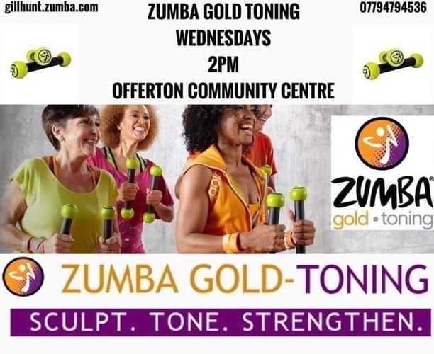 Zumba Gold Toning Class - Offerton Community Centre - Hall