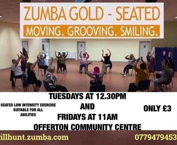 Zumba Gold - Offerton Community Centre - Hall