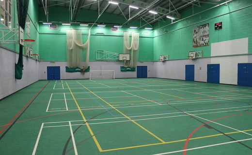 8b20a391c4adf Sports Hall - Sports and Fitness - SLS   Blessed Trinity RC College