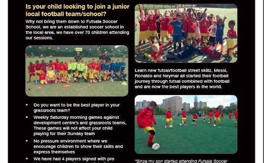 Futsala soccer school