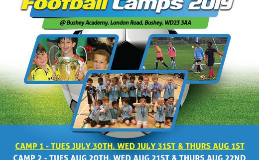 Globe football holiday camps