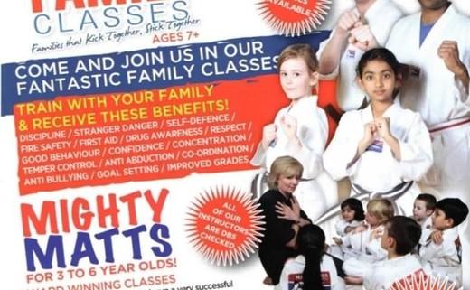 Matt Fiddes martial arts classes