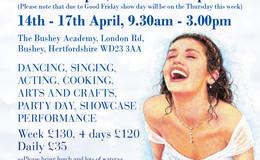 Mamma Mia! Candice Conway Theatre School Easter camp.