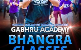 GABHRU ACADEMY Bhangra Class - Every Friday Evening!