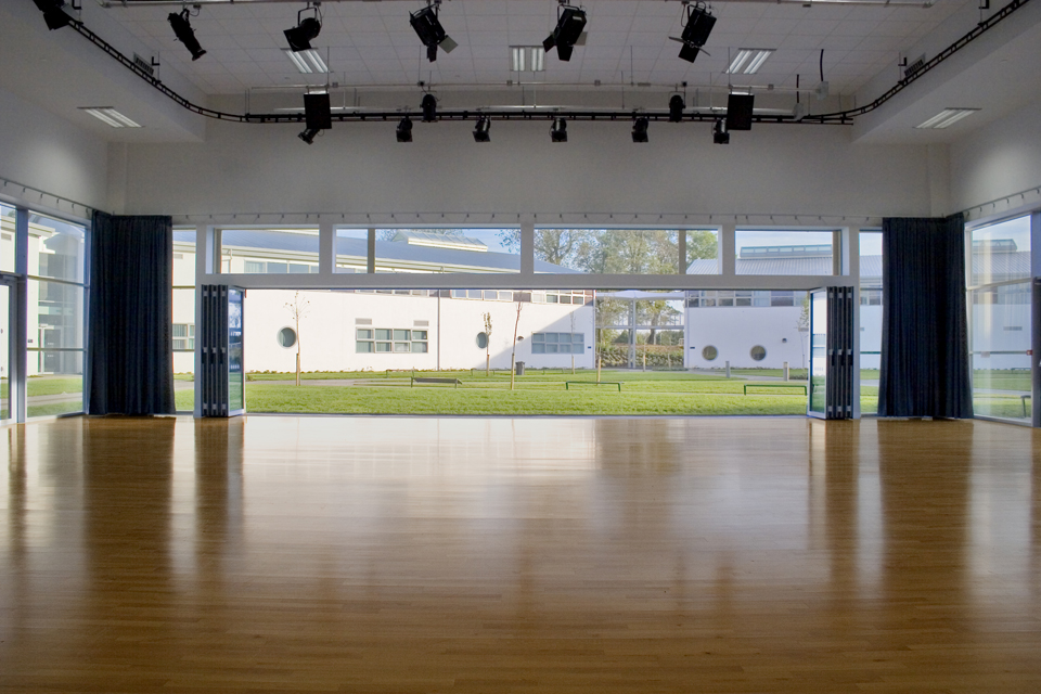 HIRE OUT ONE OF OUR LARGE HALLS WITH A HUGE 50% OFF!