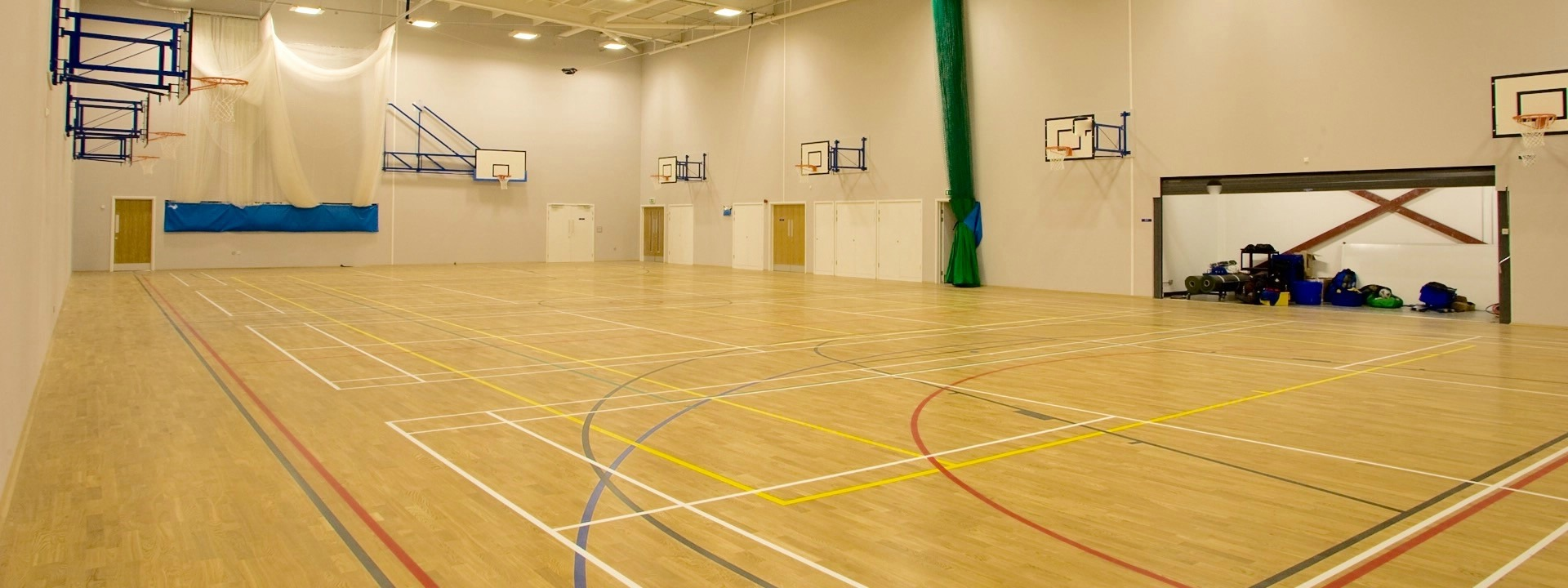 Hire our Sports Hall...