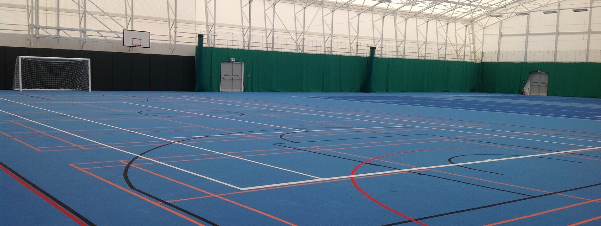 Sports Hall Hire for tennis, football, badminton...